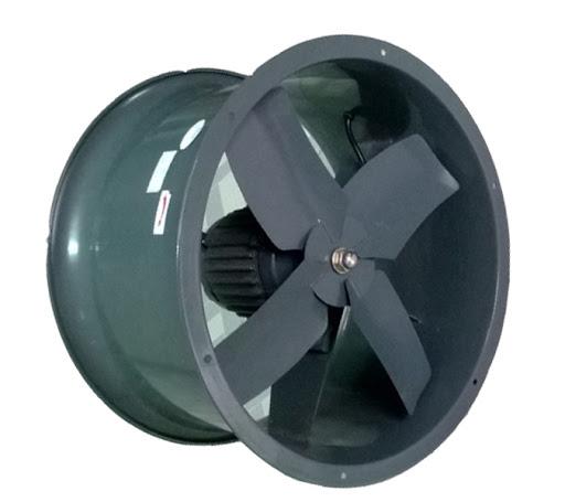 Các loại quạt hút công nghiệp phổ biến được lắp đặt tại các nhà xưởng
